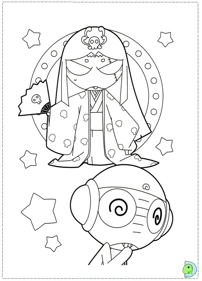keroro Colouring Pages (page 3)