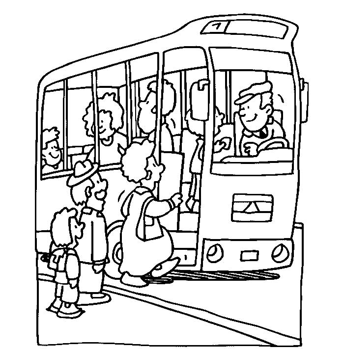 Autobuses Para Colorear Az Dibujos Para Colorear