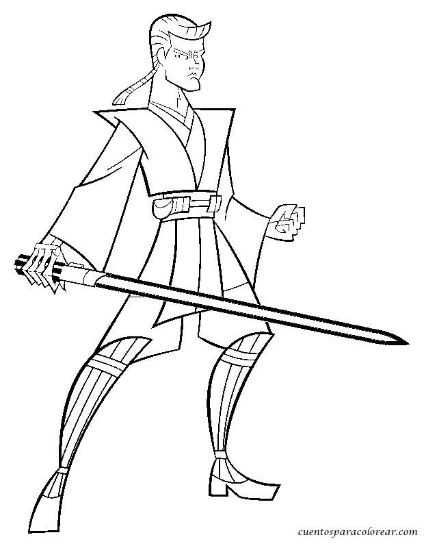 Dibujos Para Colorear Star Wars The Clone Wars - AZ Dibujos para ...