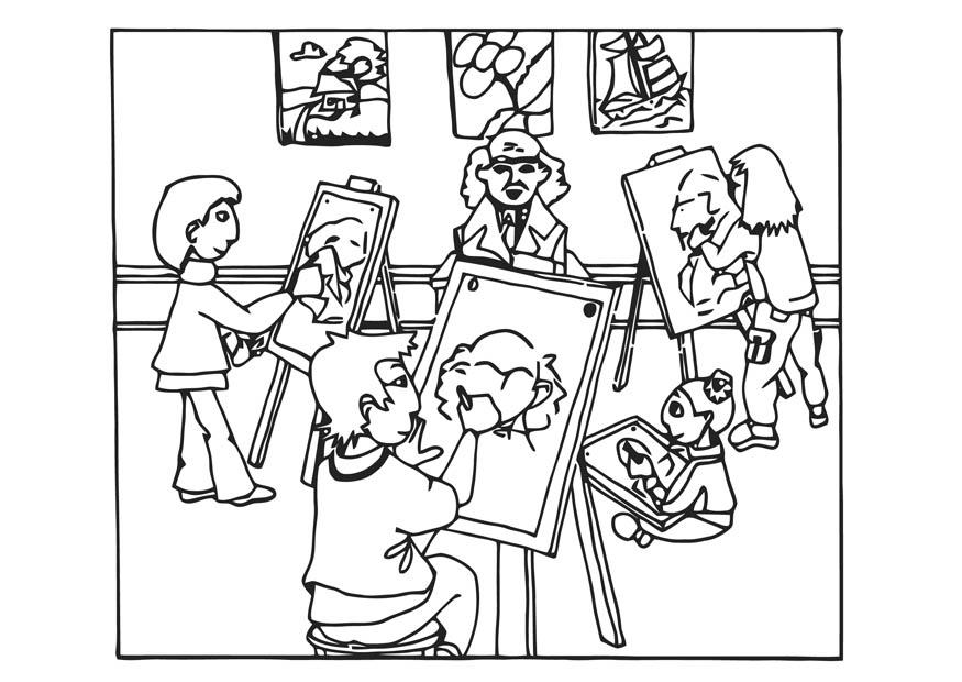 arte para colorear Colouring Pages (page 3)