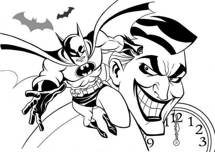 Dibujo Batman - AZ Dibujos para colorear