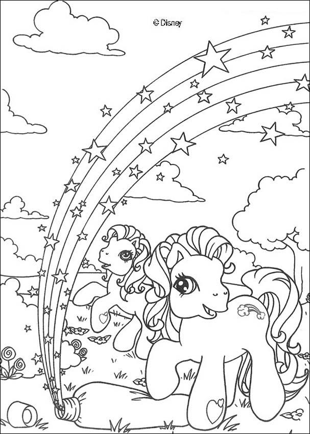 Dibujo para colorear - Little Pony - ColorearColorear.