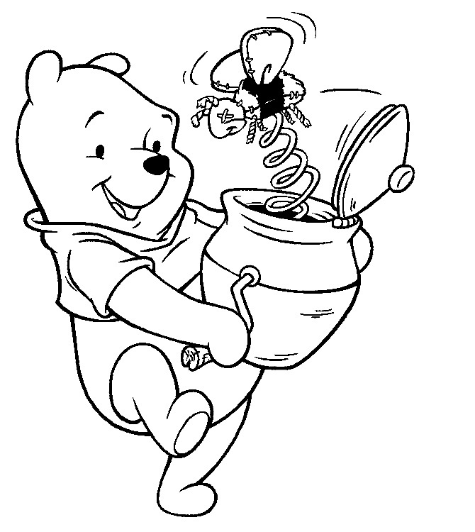 Personajes Dibujos Animados Disney Az Dibujos Para Colorear