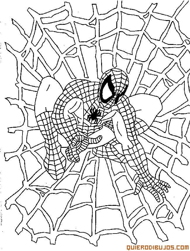 Pin Dibujo Para Pintar Spiderman Tela Ara Dibujos on Pinterest