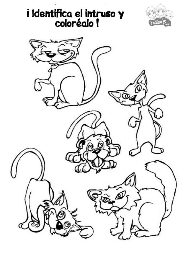 Tareas Para Imprimir Para Niños - AZ Dibujos para colorear
