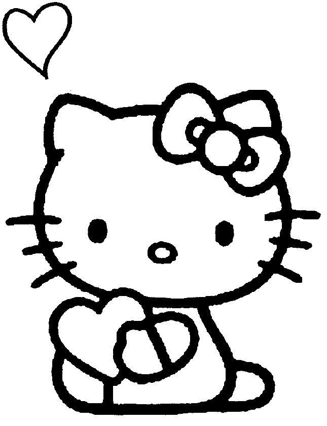 hello-kitty-enamorada HD | DibujosWiki.com