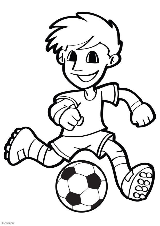 Colorear Futbol Az Dibujos Para Colorear