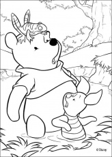colorear winnie the pooh